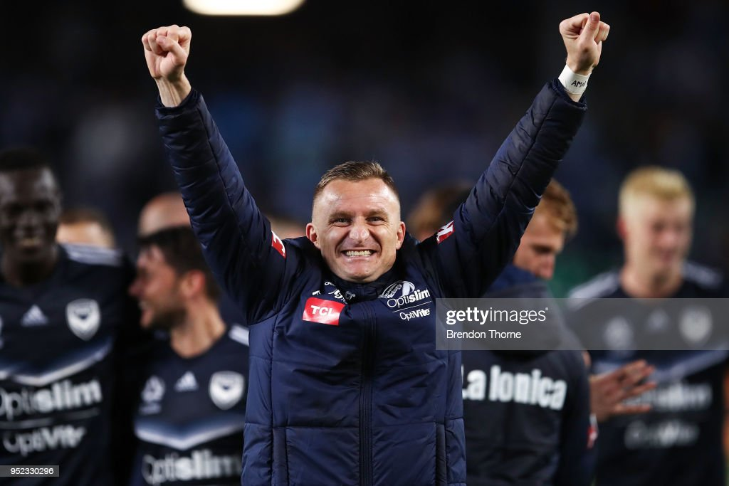 A-League Semi Final - Sydney FC v Melbourne Victory : News Photo