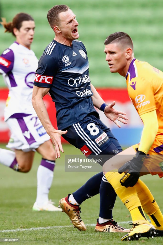 A-League Rd 16 - Melbourne v Perth