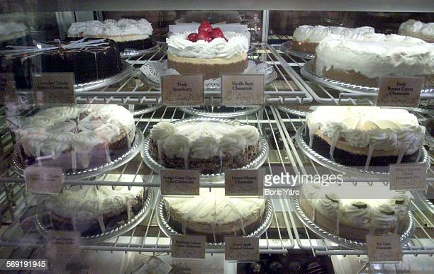 Besides the eclectic and very varied menu The Cheesecake Factory does sell cheesecake like these in the bakery counter