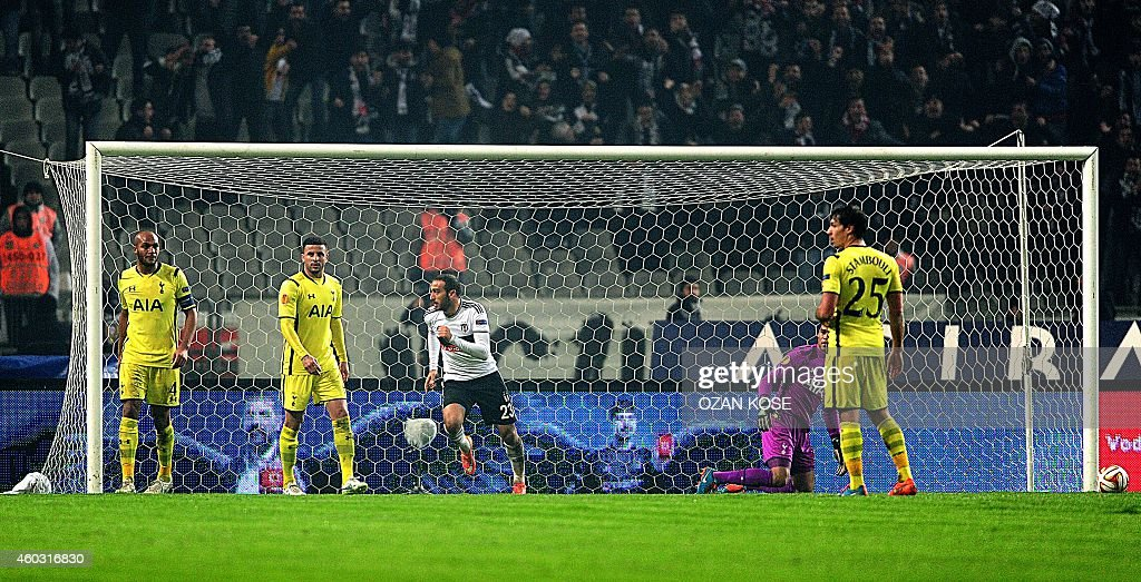 Besiktas JK v Tottenham Hotspur FC - UEFA Europa League