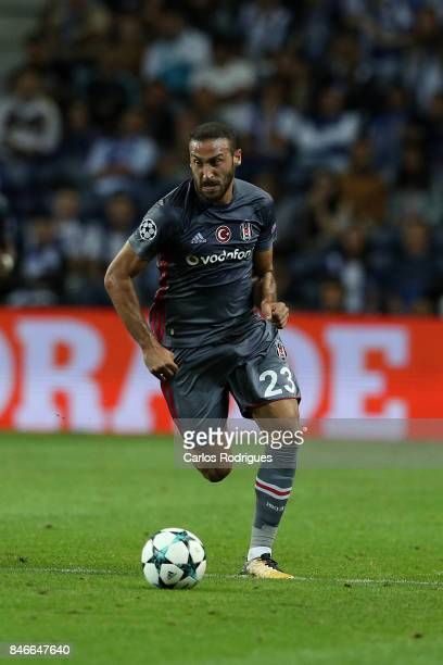 Besiktas forward Cenk Tosun from Turkey during the match between FC Porto v Besiktas JK for the UEFA Champions League at Centro de Treino do Olival...