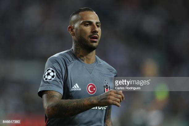 Besiktas forward Ricardo Quaresma from Portugal during the match between FC Porto v Besiktas JK for the UEFA Champions League at Centro de Treino do...