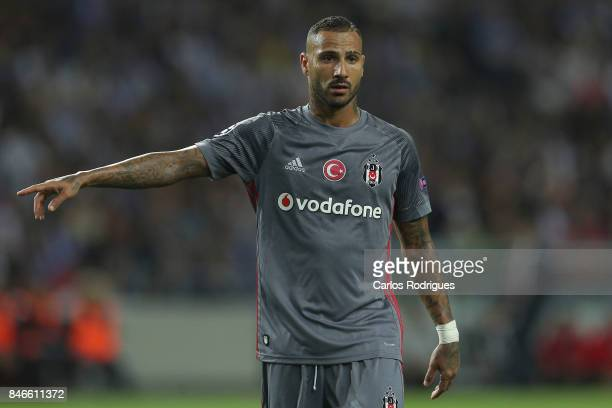 Besiktas forward Ricardo Quaresma gestures during the match between FC Porto v Besiktas JK for the UEFA Champions League match at Estadio do Dragao...