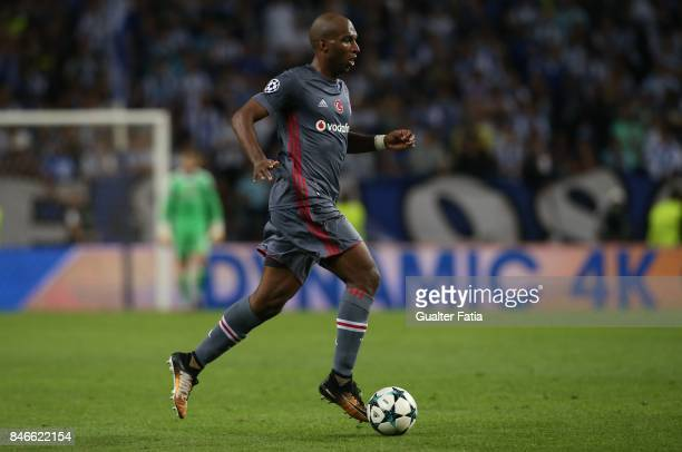 Besiktas forward Ryan Babel from Holland in action during the UEFA Champions League match between FC Porto and Besiktas JK at Estadio do Dragao on...
