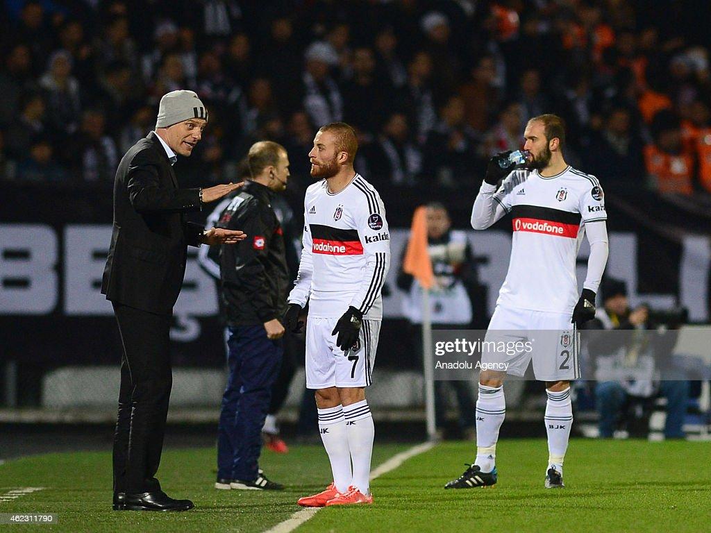 Genclerbirligi v Besiktas - Turkish Super Toto Super League : News Photo