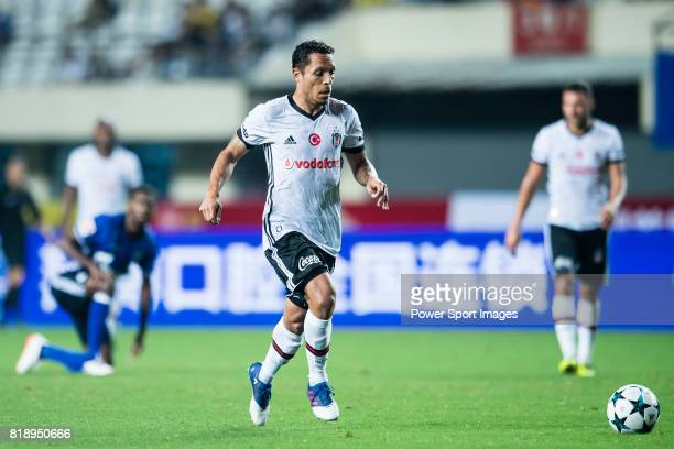 Besiktas Istambul Defender Adriano Correia in action during the Friendly Football Matches Summer 2017 between FC Schalke 04 Vs Besiktas Istanbul at...