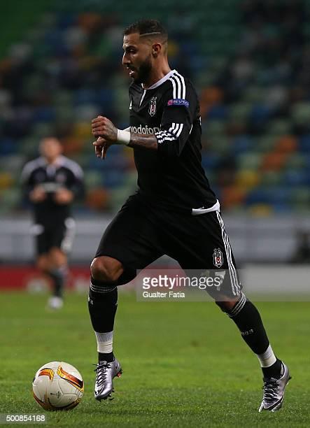 Besiktas JKO's forward Ricardo Quaresma in action during the UEFA Europa League match between Sporting CP and Besiktas JK at Estadio Jose de Alvalade...