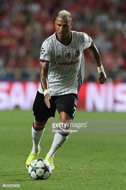 Besiktas JK's forward Ricardo Quaresma from Portugal during the UEFA Champions League Match between SL Benfica vs Besiktas JK at Estadio da Luz on...