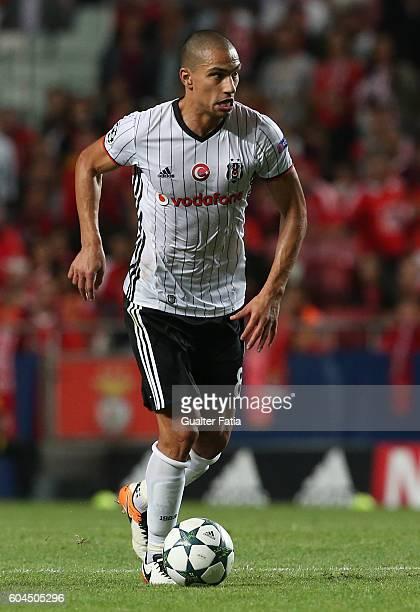 Besiktas JKÕs midfielder Gokhan Inler in action during the UEFA Champions League match between SL Benfica and Besiktas JK at Estadio da Luz on...