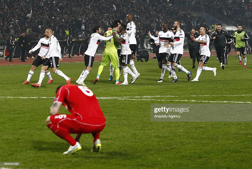 Besiktas vs Liverpool - UEFA Europa League : News Photo