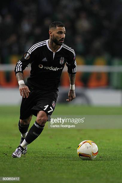 Besiktas's midfielder Quaresma during the match between Sporting CP and Besiktas JK for UEFA Europe League Group Round on December 10 2015 in Lisbon...