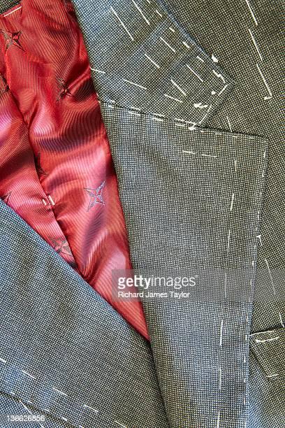 Bespoke handmade Savile Row suit