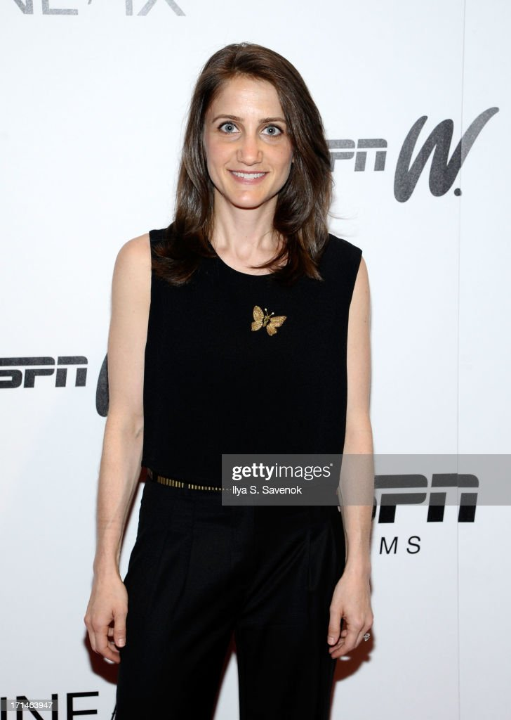 Bess Kargman attends 'Venus Vs.' and 'Coach' New York Special Screenings at Paley Center For Media on June 24, 2013 in New York City.