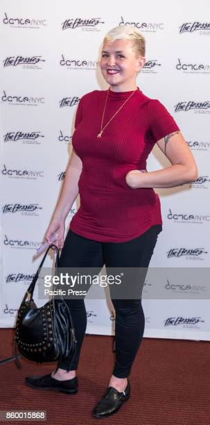 Bessie Award nominee Abby Zbikowski attends The 33rd Annual NY Dance and Performance Bessie Awards at NYU Skirball Center For The Performing Arts...