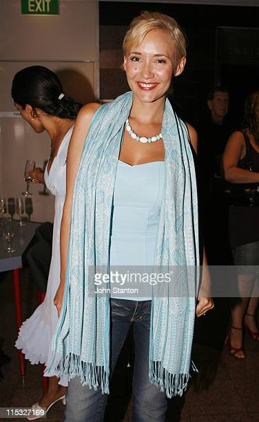 Bessie Bardot during Hedwig and the Angry Inch Opening Night in Sydney February 1 2007 at Tom Mann Theatre in Sydney NSW Australia
