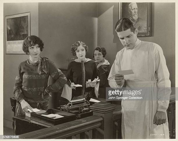 Bessie Love and Malcolm McGregor Acting Together