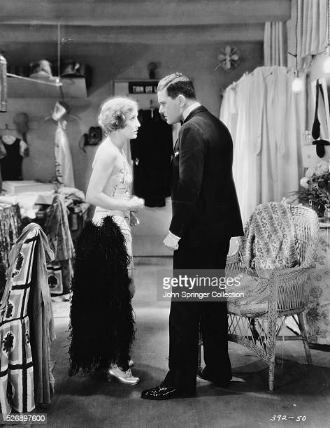 Bessie Love as Harriet Hank Mahoney and Charles King as Eddie Kearns the 1929 silent film The Broadway Melody