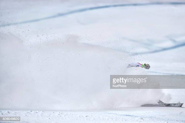 Bessy Anouk -FRA-AUDI FIS SKI WORLD CUP- La Thuile-Valle D'Aosta 8th Ladies' downhill- on February , 2016.