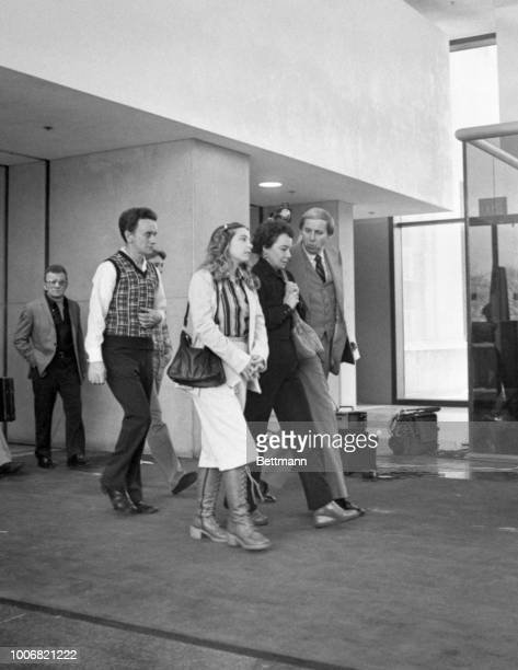 Bessy Stapleton mother of Samuel Dodd one of 33 young men and boys John Wayne Gacy is accused of slaying is escorted by assistance Cook County...