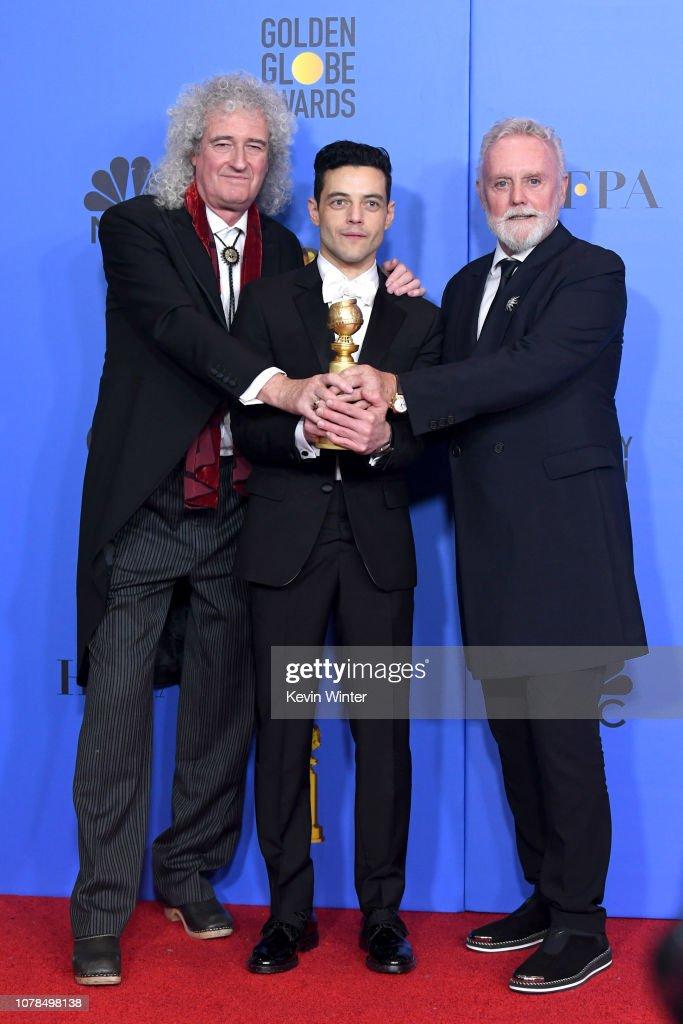 76th Annual Golden Globe Awards - Press Room : News Photo