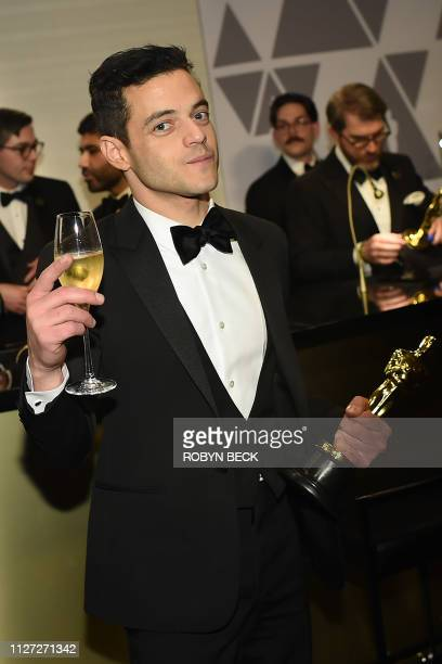 Best Actor winner for Bohemian Rhapsody Rami Malek attends the 91st Annual Academy Awards Governors Ball at the Hollywood Highland Center in...