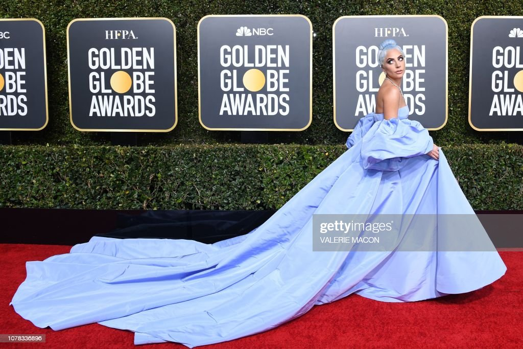 TOPSHOT-US-ENTERTAINMENT-FILM-TELEVISION-GOLDEN-GLOBES-ARRIVALS : News Photo