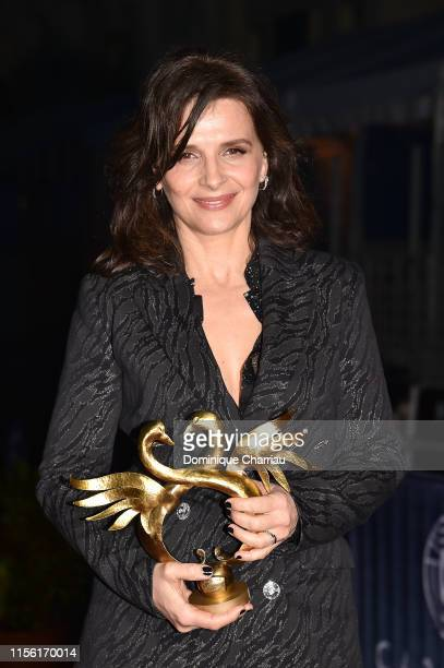 Best Actress Juliette Binoche during the 33rd Cabourg Film Festival Day Four on June 15 2019 in Cabourg France