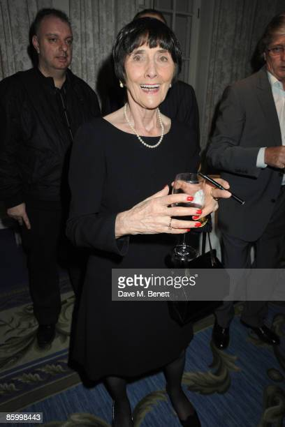 Best actress nominee for 'EastEnders' June Brown attends the British Academy Television Awards 2009 Nomination Party at The Mandarin Oriental Hotel...