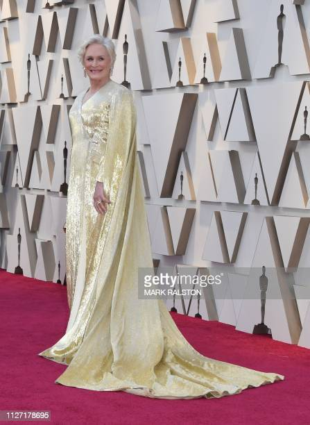 Best Actress nominee for The Wife Glenn Close arrives for the 91st Annual Academy Awards at the Dolby Theatre in Hollywood California on February 24...