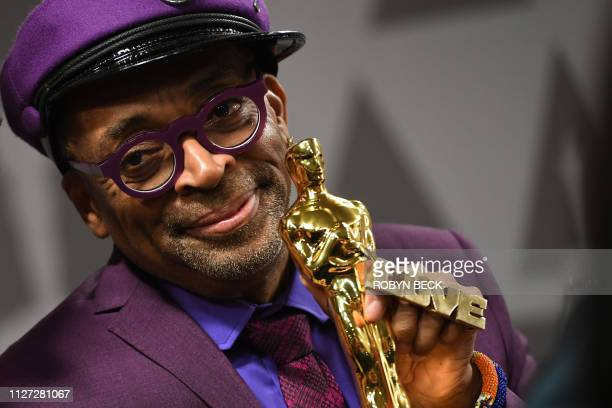 """Best Adapted Screenplay winner for """"BlacKkKlansman"""" Spike Lee attends the 91st Annual Academy Awards Governors Ball at the Hollywood & Highland..."""