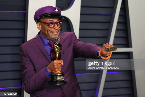 """Best Adapted Screenplay winner for """"BlackKklansman"""" Spike Lee attends the 2019 Vanity Fair Oscar Party following the 91st Academy Awards at The..."""