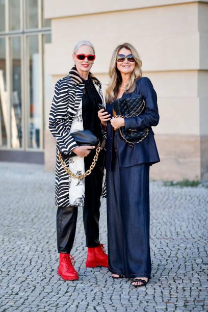 DEU: Street Style - ABOUT YOU Fashion Week Berlin - September 14, 2021