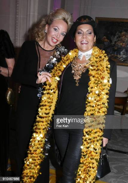 Best awarded Princesse Camilla de Bourbon des Deux Siciles and Hermine de Clermont Tonnerre attend the 41st The Best Award Ceremony in Paris Paris...