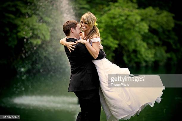 Best Bride and Groom Happy Couple Wedding Dress