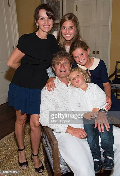 Best Buddies International Founder and Chairman Anthony Shriver with wife Alina Shriver and children Eunice Shriver Carolina Shriver and Joey Shriver...