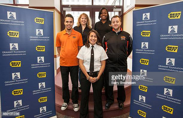 Best Buy and the Geek Squad during the Best Buy GRAMMY Camp Weekend at DePaul University on December 6 2014 in Chicago Illinois