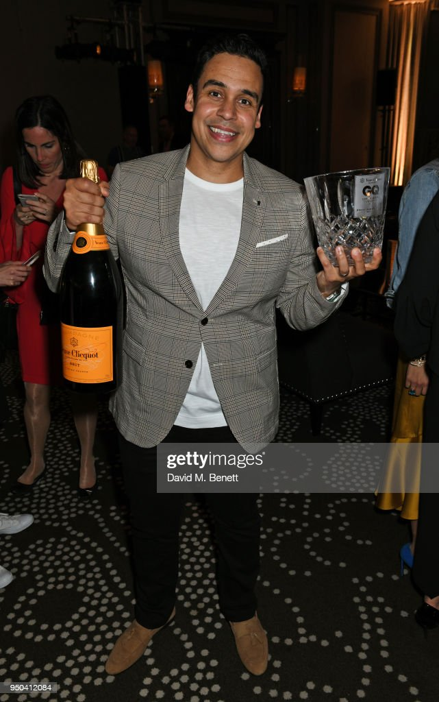 Best Chef winner Paul Ainsworth attends the GQ Food & Drink Awards at Rosewood London on April 23, 2018 in London, England.