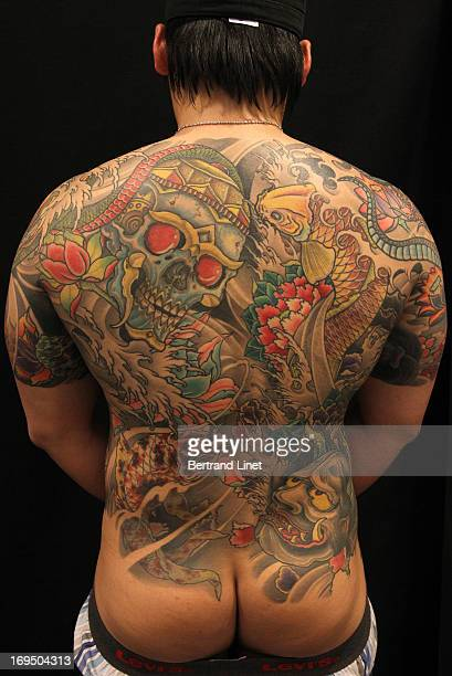 Best colour back tattoo competion