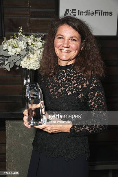 Best Curated Series award recipient Mette Hoffmann Meyer attends the 32nd Annual IDA Documentary Awards at Paramount Studios on December 9 2016 in...