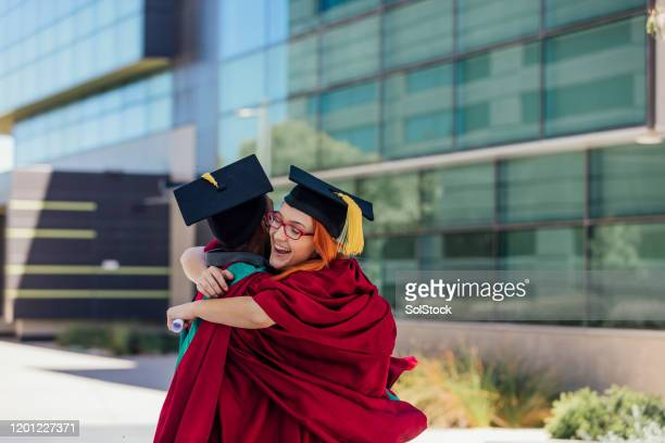 best day ever! - alumni stock pictures, royalty-free photos & images