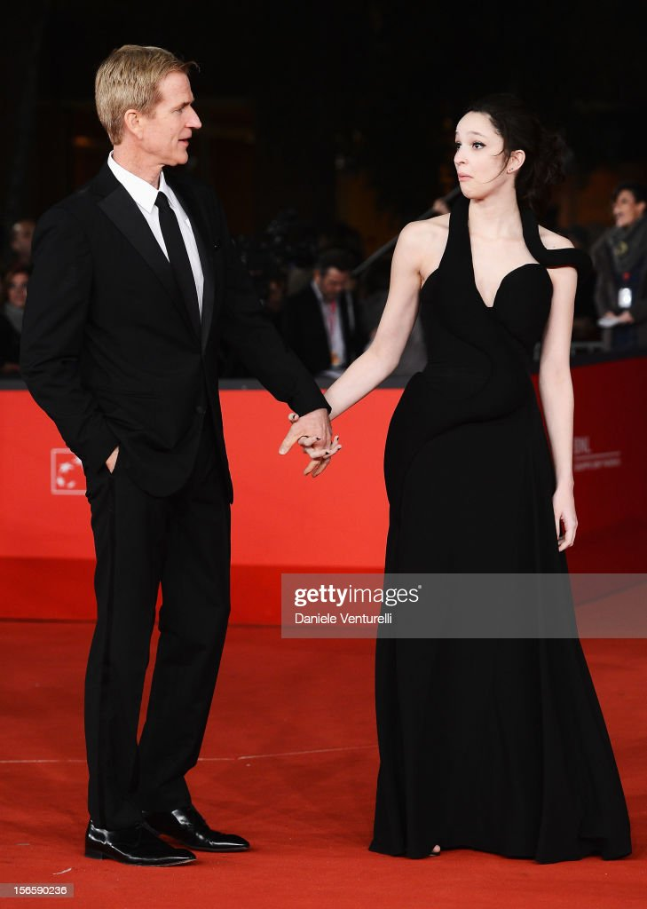 Best Debut and Second Film Award Jury member Matthew Modine and Ruby Modine attend the Closing Ceremony Red Carpet during the 7th Rome Film Festival at the Auditorium Parco Della Musica on November 17, 2012 in Rome, Italy.