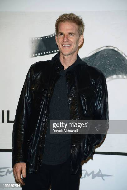 Best Debut and Second Film Jury President Matthew Modine attends the 'La Scoperta Dell'Alba' photocall during the 7th Rome Film Festival at the...