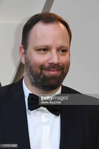 Best Director nominee for The Favourite Yorgos Lanthimos arrives for the 91st Annual Academy Awards at the Dolby Theatre in Hollywood California on...