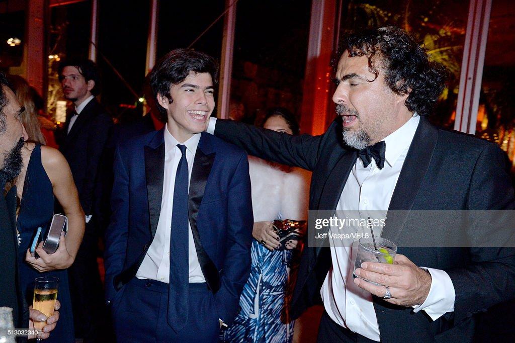 2016 Vanity Fair Oscar Party Hosted By Graydon Carter - Inside : News Photo