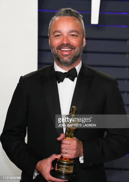 Best Documentary Feature winner for Free Solo producer Taylor Hill attends the 2019 Vanity Fair Oscar Party following the 91st Academy Awards at The...