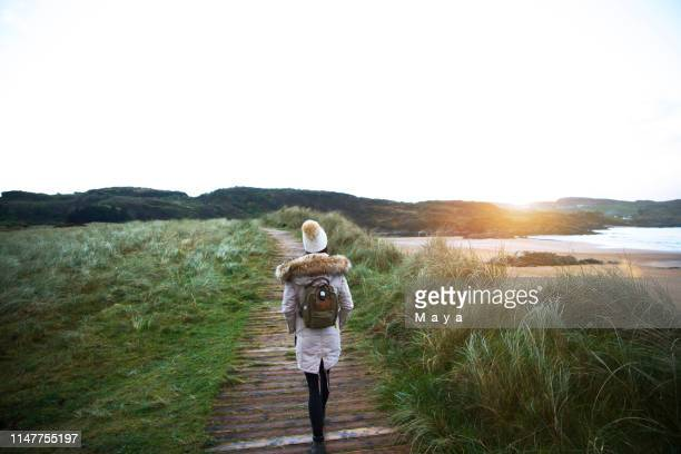 best dreams happen when you're awake - county donegal stock photos and pictures