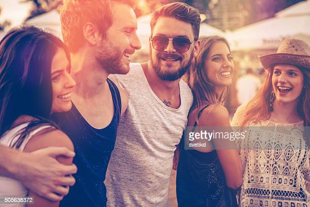 best festival ever! - boyfriend stock pictures, royalty-free photos & images