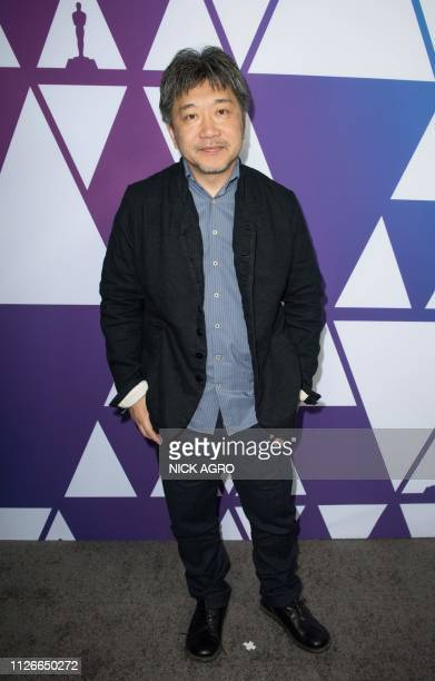Best Foreign Language Film nominee for Shoplifters Japanese director Hirokazu Koreeda arrives for the Oscar Week Foreign Language Film event at The...