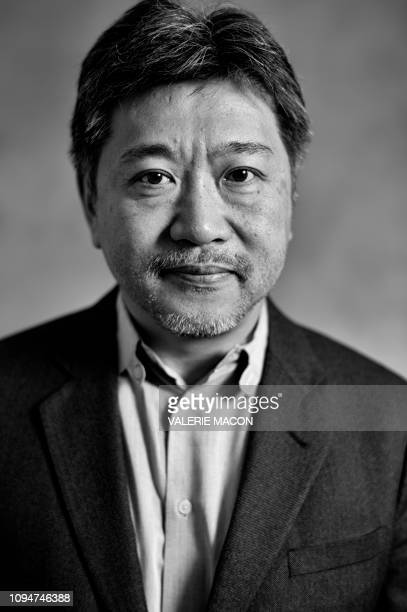 Best ForeignLanguage Film nominee Shoplifters director Hirokazu Koreeda poses during a photo session ahead of the 91st Oscars Nominees Luncheon at...