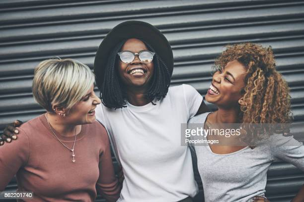 best friends are made for laughter - black people laughing stock photos and pictures